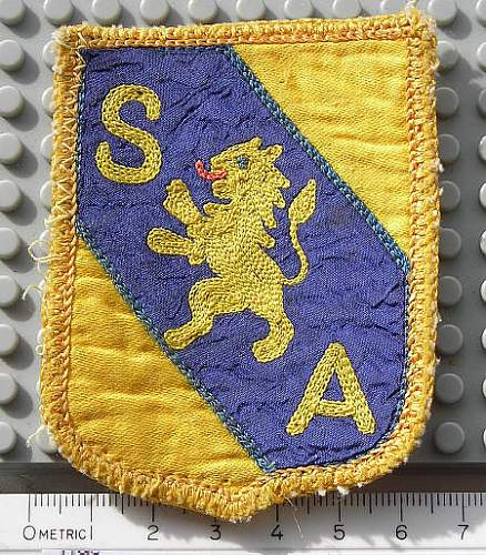 Unidentified patches help please :)