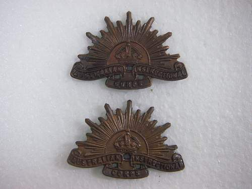 Click image for larger version.  Name:30-42 Australian Insructional Corps OR collars.jpg Views:65 Size:192.6 KB ID:753643