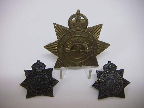 Click image for larger version.  Name:32nd Battalion The Footscray Regiment Set 1.jpg Views:56 Size:164.3 KB ID:756149