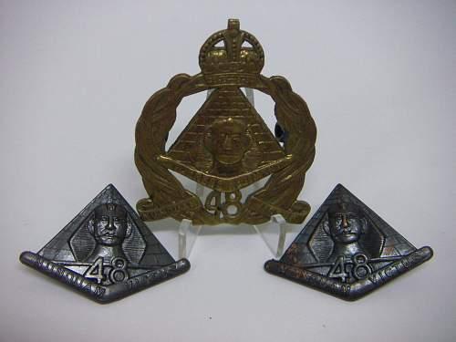 Click image for larger version.  Name:48th Battalion The Torrens Regiment Set 1.jpg Views:57 Size:189.4 KB ID:756155