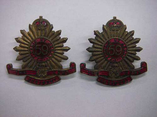 Click image for larger version.  Name:59th Battalion The Hume Regiment collars 1.jpg Views:34 Size:189.0 KB ID:756160