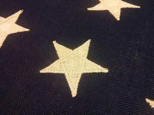 US 48 stars Flag