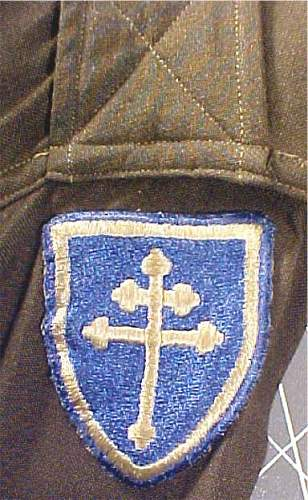 need help with 79th inf. patch?