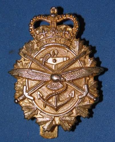 Military employed civilian cap badge to ID