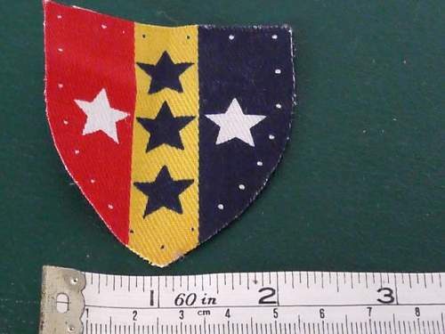 Help IDing a couple of unit formation badges.