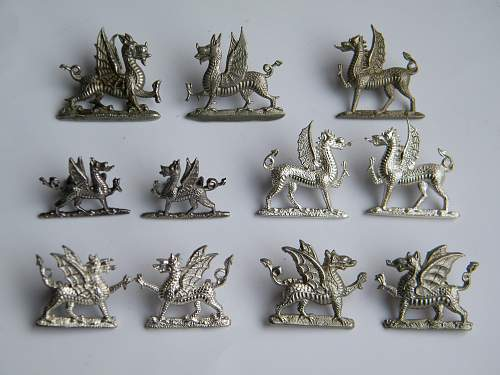 Click image for larger version.  Name:White metal, silver and silver plate dragons.jpg Views:6 Size:211.5 KB ID:783807