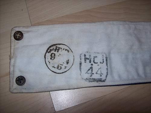 Royal Signals armband
