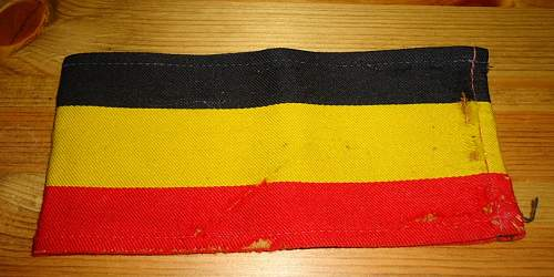 Belgian Resistance Armband?