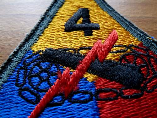 US Cloth Insignia