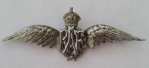 Click image for larger version.  Name:RAF Sweetheart wing.jpg Views:73 Size:201.7 KB ID:819703