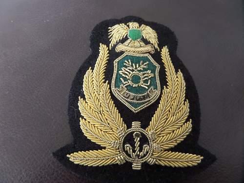 Unknown Navy badge