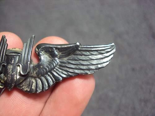 Aerial gunner wings ???