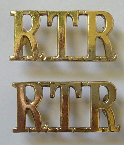 Click image for larger version.  Name:RTR shoulder titles 001.JPG Views:149 Size:174.1 KB ID:84859