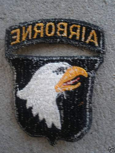 101st Airbourne Patch?