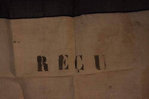 ww2 French flag with Militia lettering?