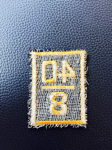 Military patch?