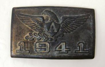 1941 American buckle?