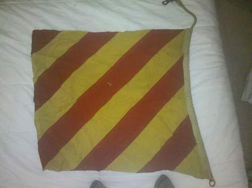 British Naval Flag, WWII period?