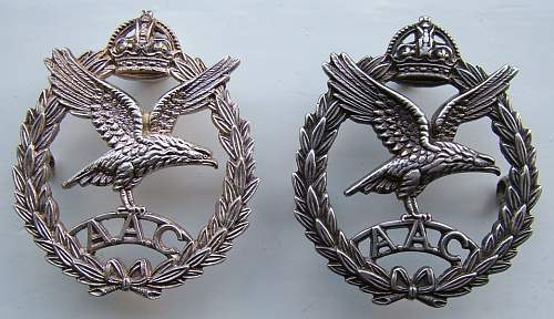 Royal Ulster Rifles 1st glider Battalion cap badge