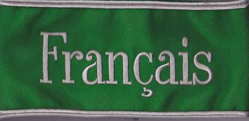 Francais armband