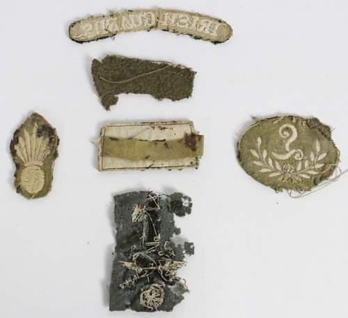 Click image for larger version.  Name:Irish Guards Cloth Badge Souvenirs 2.jpg Views:8 Size:40.2 KB ID:877220
