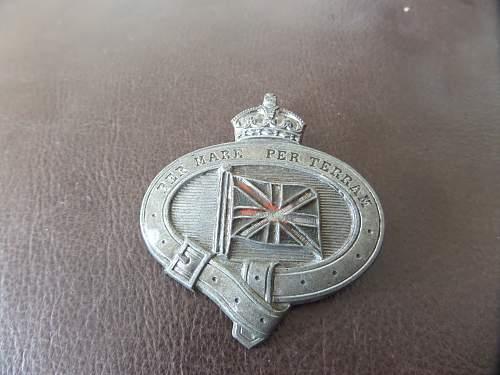 Royal marine badge ?