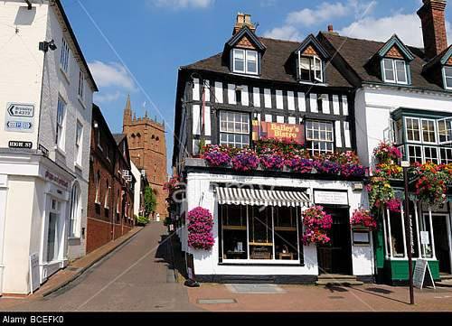 Click image for larger version.  Name:baileys-bistro-and-st-leonards-church-high-street-bridgnorth-shropshire-BCEFK0.jpg Views:7 Size:120.5 KB ID:881873