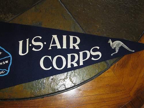 13th US Air Corps pennant
