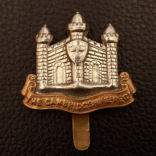 British Cap badge