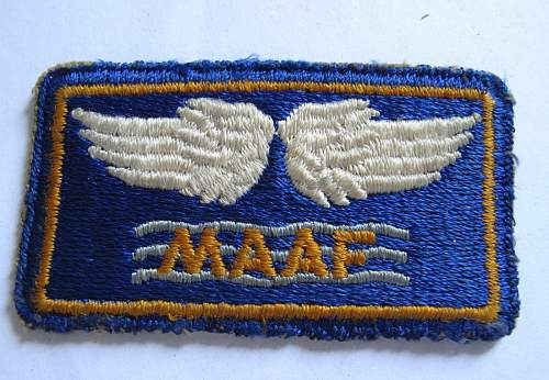 Mediterranean Allied Air Forces formation sign
