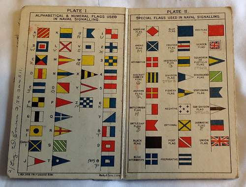 RN Signal flag from HMS Newcastle?
