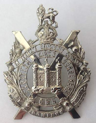 Kings Own Scottish Borders Officers Group