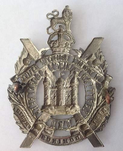 Click image for larger version.  Name:KOSB Cap badge reverse.jpg Views:41 Size:227.6 KB ID:910690