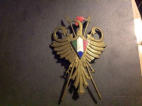 Help with pre ww2 French/spanish North African Colonial badges