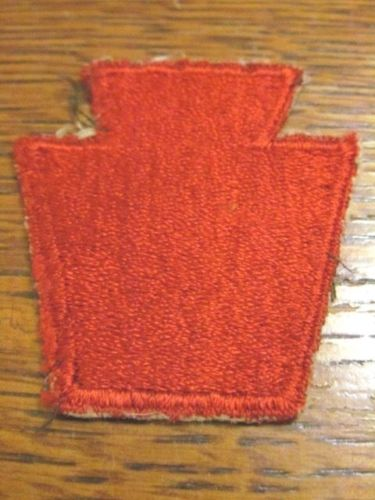 28th Infantry Divison patch: Authentic WW II?