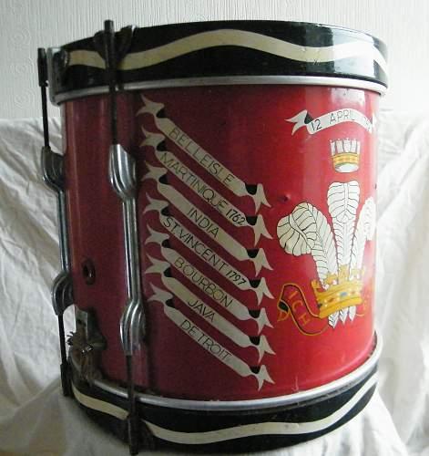 Click image for larger version.  Name:Welch regiment side drum 2.jpg Views:30 Size:235.9 KB ID:927745