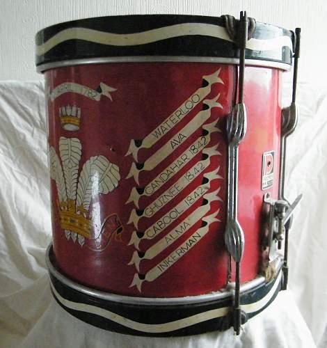Click image for larger version.  Name:Welch regiment side drum 3.jpg Views:21 Size:233.9 KB ID:927746