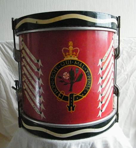 Click image for larger version.  Name:Welch regiment side drum 4.jpg Views:41 Size:216.8 KB ID:927747
