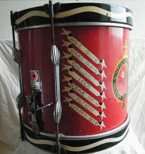 Click image for larger version.  Name:Welch regiment side drum 5.jpg Views:18 Size:228.3 KB ID:927748