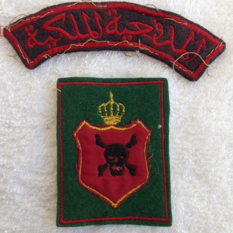 Arab Legion badges and patches