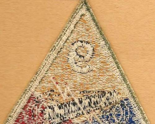 2nd Infantry Division, 3rd Armored Divison, 9th Armored Division patches: Authentic WW II ?
