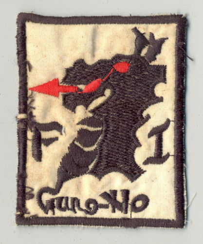 Vietnam era: 1st US Cavalry Division (Airmobile) patch and three South Vietnames patches