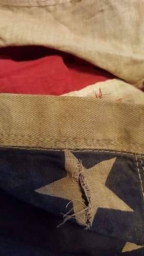 Help! 2ND INF DIV 9TH REG 1944 Flag?