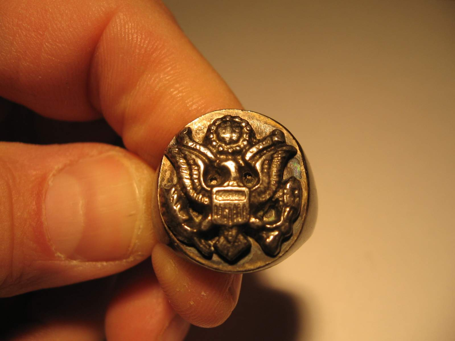 Us Wwii Army Ring