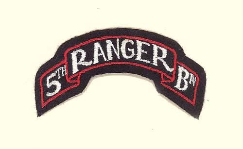 Ranger scroll