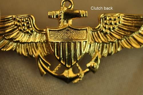 US Navy Wings-BB&B