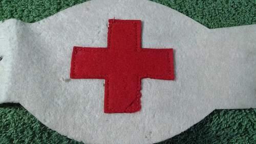 WW2 U.S Medic Armband ???