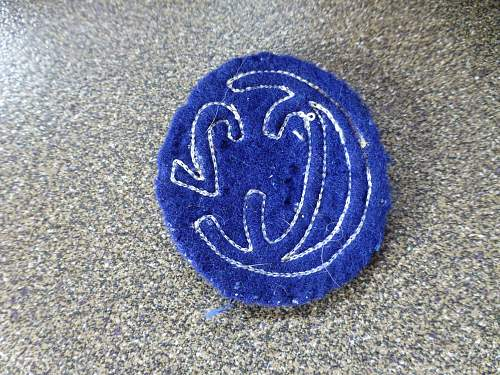 Ww1 divisional patch help