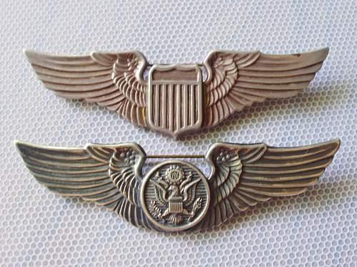 "USAAF ""Juarez"" type Pilots wing."