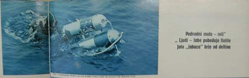 Seal underwater scooter ; could be French T 14 ???